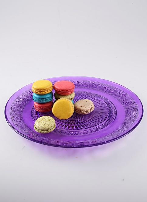Dekorazon Servis Tabağı 33 cm Renkli